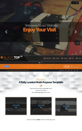 Blacktop Electrical Website Template