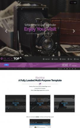 Blacktop Antiques Website Template