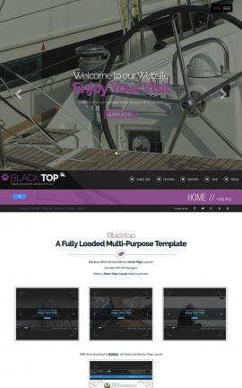 Blacktop Boating Website Template