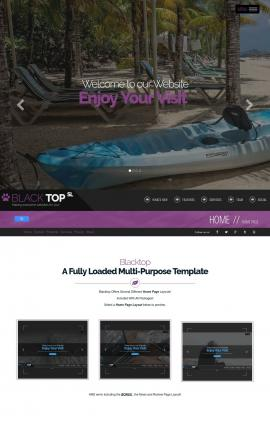 Blacktop Kayak Website Template