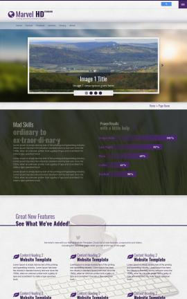 Marvel Agriculture Website Template