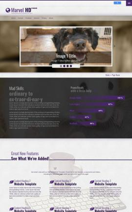 Marvel Animal-shelter Website Template