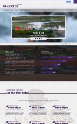 Marvel Kayak Website Template