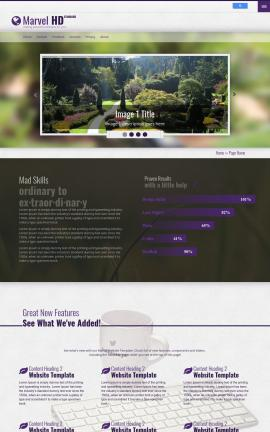 Marvel Landscaping Website Template