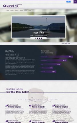 Marvel Sailing Website Template