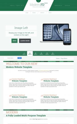 Modern Accounting Website Template