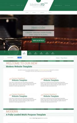 Modern Antiques Website Template