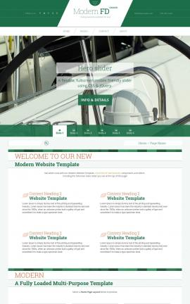 Modern Boating Website Template