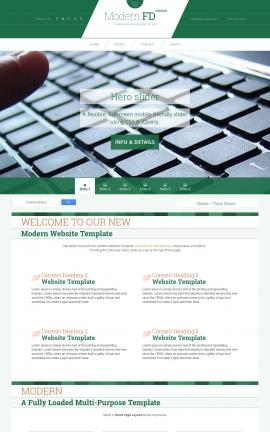Modern Computers Website Template