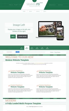 Modern Fishing Website Template