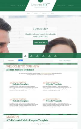 Modern Insurance Website Template