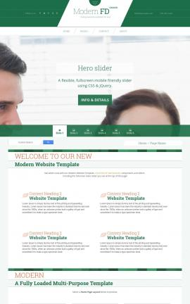 Modern Real-estate Website Template