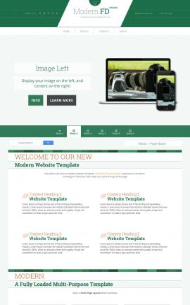 Modern Videography Website Template