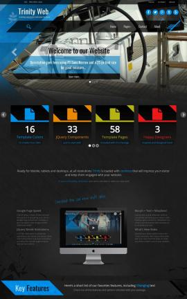 Trinity Boating Website Template