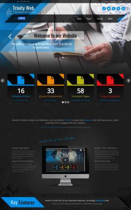Trinity Business Website Template