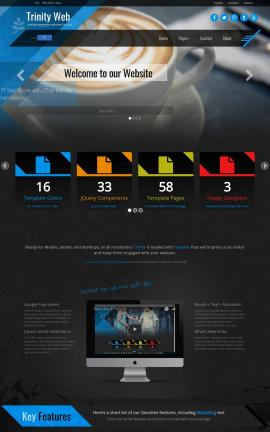 Trinity Cafe Website Template