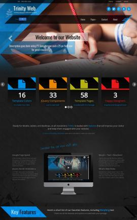 Trinity Child-care Website Template