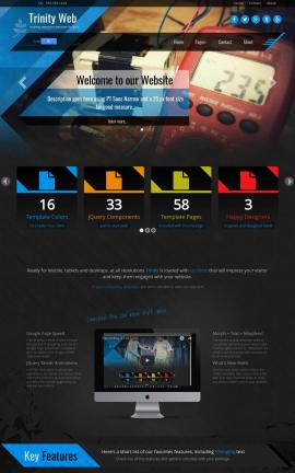 Trinity Electrical Website Template