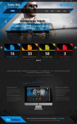 Trinity Fishing Website Template