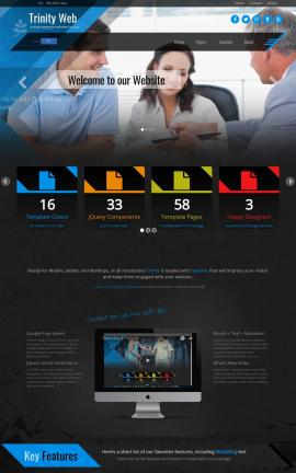 Trinity Insurance Website Template