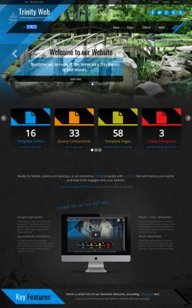 Trinity Landscaping Website Template
