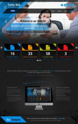 Trinity Law Website Template