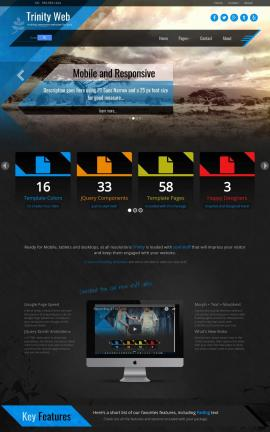 Trinity Nature Website Template