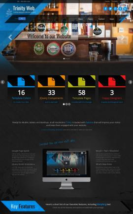 Trinity Pub Website Template