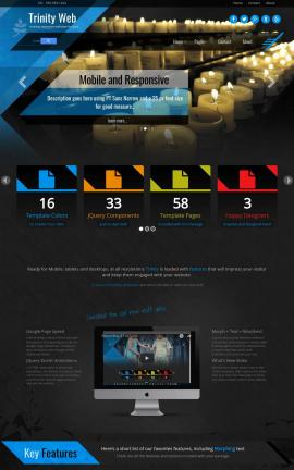 Trinity Religion Web Template
