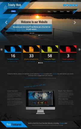 Trinity Sailing Website Template