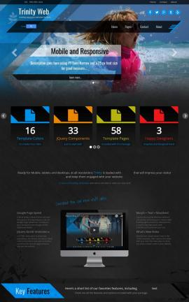 Trinity Travel Website Template