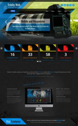 Trinity Videography Website Template