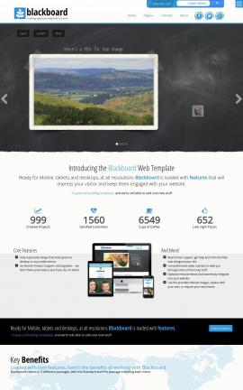 Blackboard Agriculture Website Template