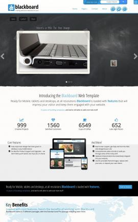Blackboard Computers Website Template