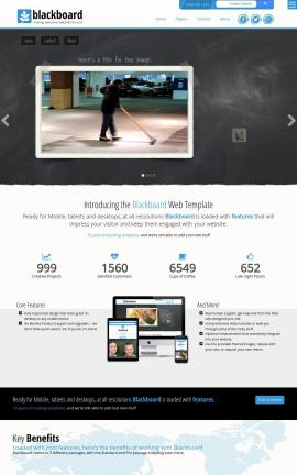Blackboard Janitorial Website Template