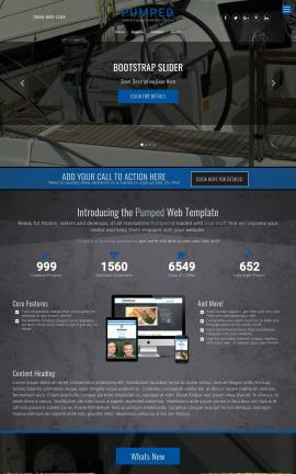 Pumped Boating Website Template