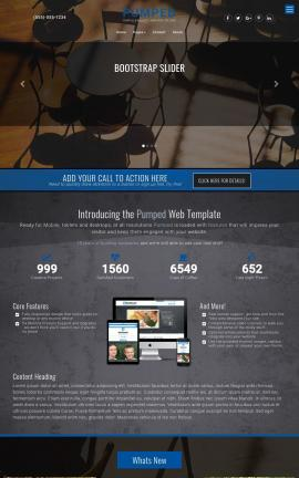 Pumped Flooring Website Template