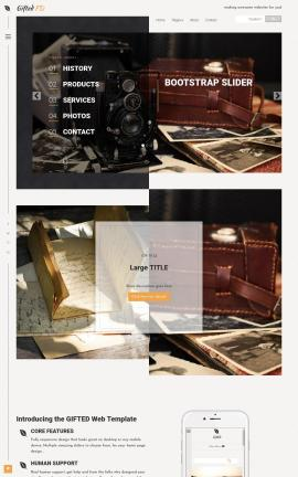 Gifted Antiques Website Template