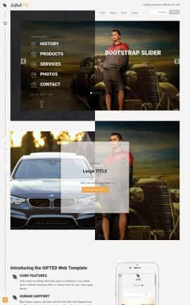 Gifted Automobile Website Template