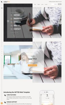 Gifted Business Website Template