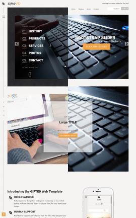 Gifted Computers Website Template