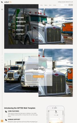 Trucking Website Templates