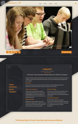 Cinematic Computers Website Template