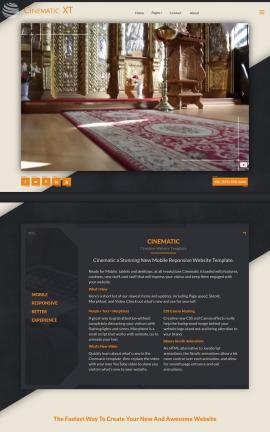 Cinematic Religion Website Template