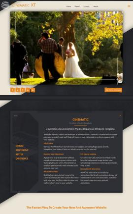 Cinematic Videography Website Template