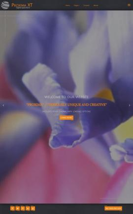 Proxima Floral Website Template