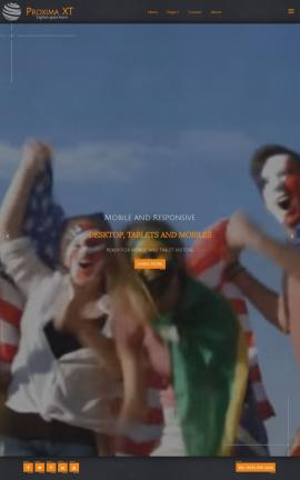 Proxima Patriotic Web Template