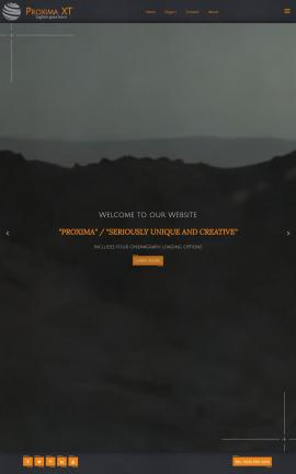 Proxima Snowmobile Website Template