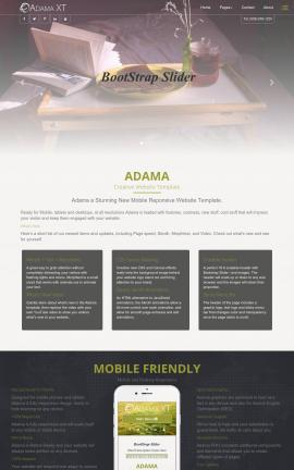 Adama Bed-and-breakfast FP2003 Template