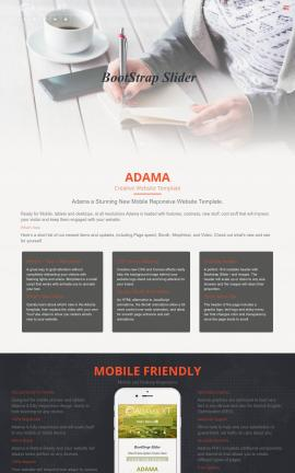 Adama Business Dreamweaver Template